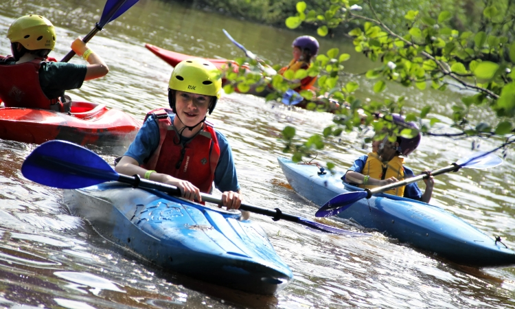 Kids Kayak & Canoe Party