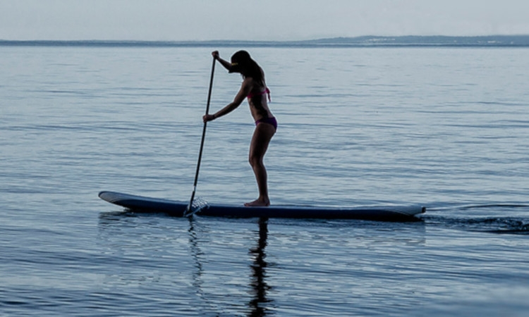 Beginner Stand Up Paddle Instruction